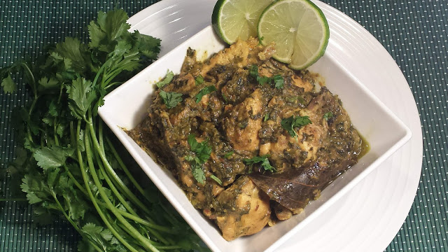Methi Murg / Fenugreek Chicken Curry
