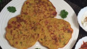 Besan Ka Chilla / Chickpea Flour Pancakes