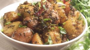 Fenugreek Potato/ Methi Aloo