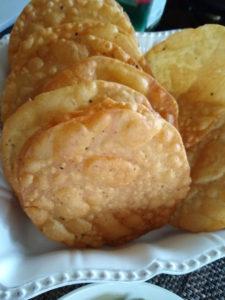 Pakwan / Crispy Fried Flatbread