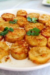Aloo Tuk / Crispy Potatoes – Air Fryer, Stove Top