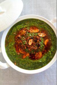 Mustard Greens / Sarson Da Saag – Instant Pot, Pressure Cooker