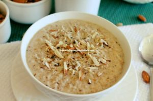 Cracked Wheat Porridge/ Meetha Daliya
