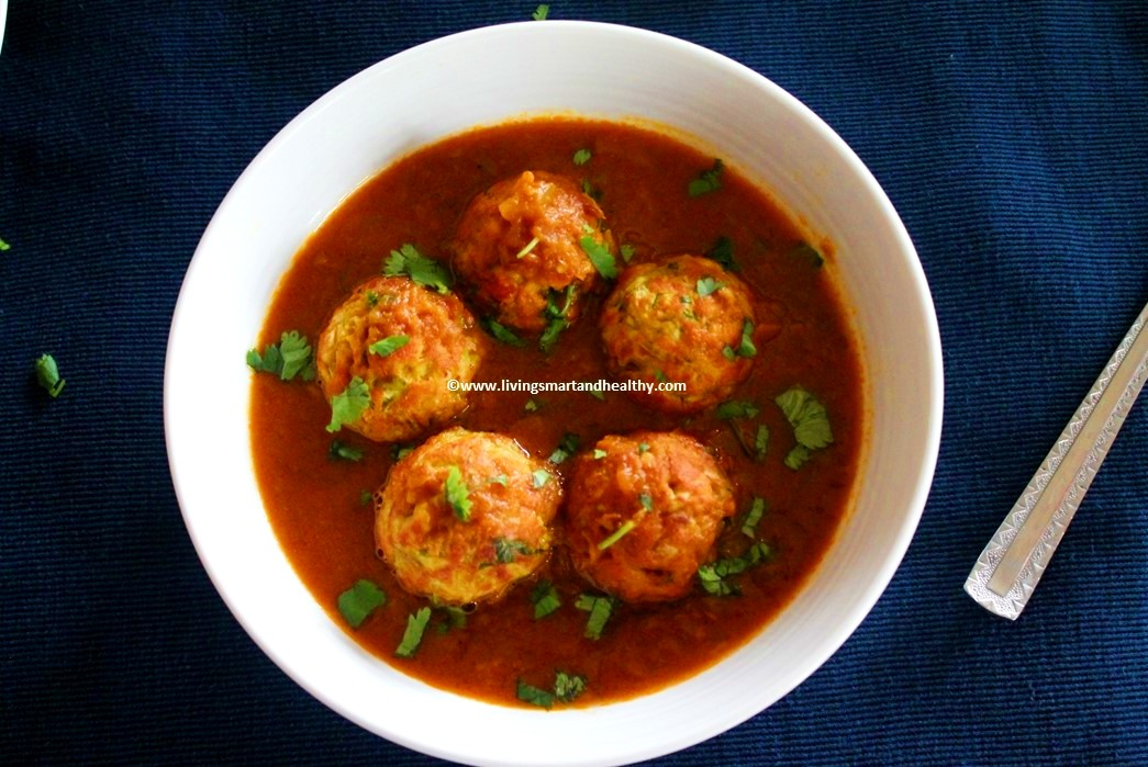 Lauki Kofta Curry/ Bottle gourd Dumplings Curry