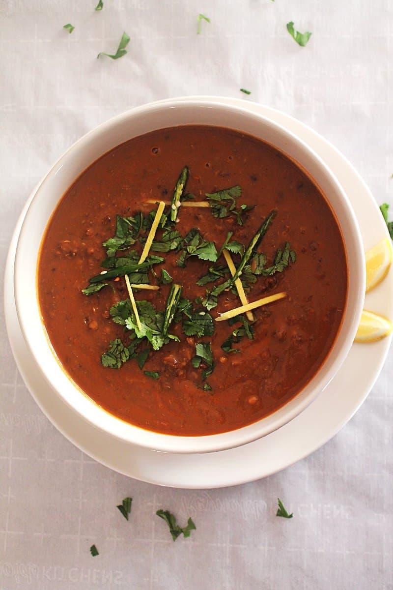 Dal Makhani – Instant Pot, Pressure Cooker