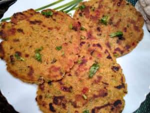 Sorghum Flour Flatbread / Sindhi Jowar Jo Dodo