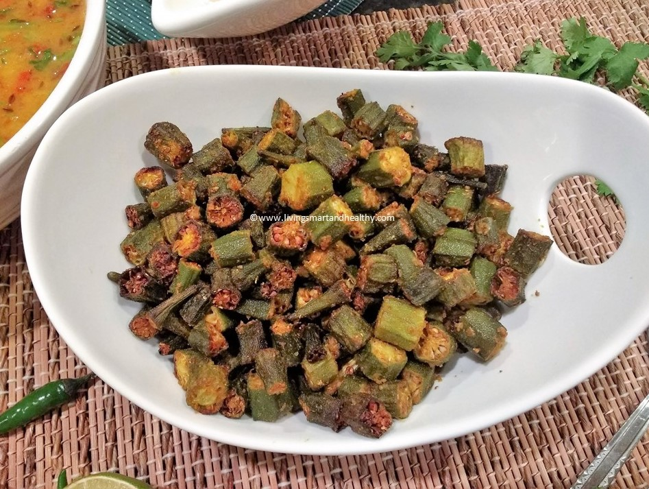 Air Fryer Okra / Bhindi Fry