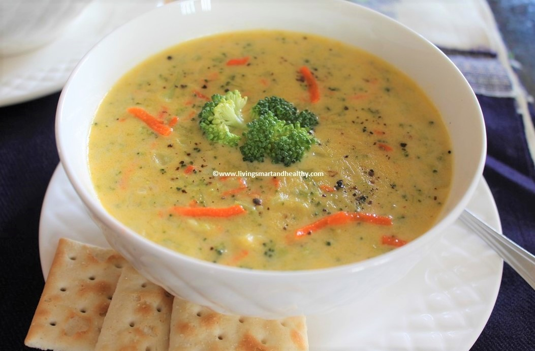 Broccoli Cheddar Soup – Instant Pot, Stove Top