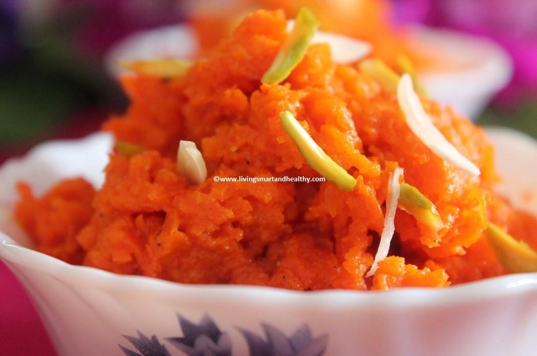 Carrot Halwa / Gajar Ka Halwa – Instant Pot, Pressure Cooker
