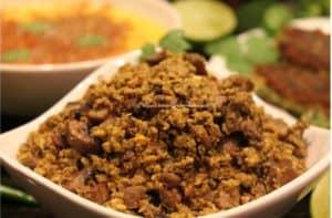 Mushroom Egg Keema – Instant Pot, Stove Top