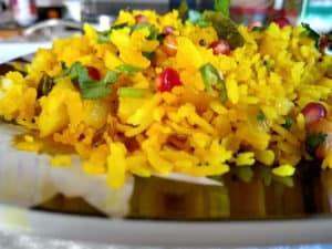Flattened Rice / Poha / Aloo Poha / Kanda Batata Poha