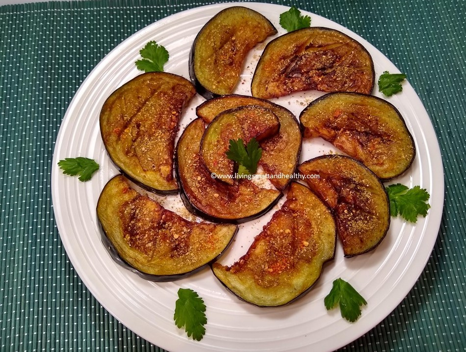 Tariyal Vangan / Fried Eggplant / Baingan
