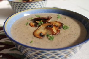 Cream of Mushroom Soup – Instant Pot, Stove Top