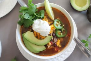 Chicken Tortilla Soup – Instant Pot, Stove Top