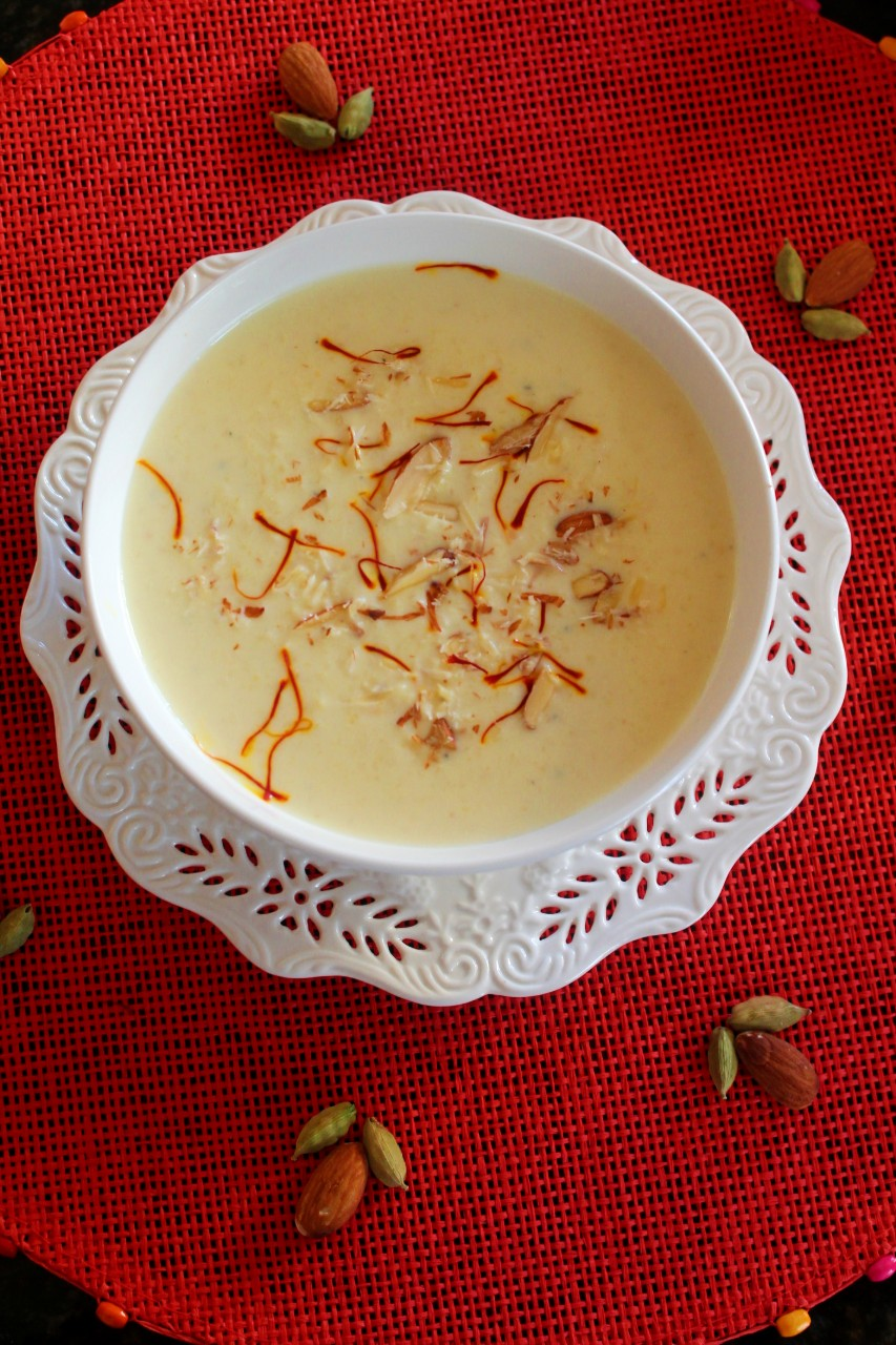 Kheer / Rice Pudding – Instant Pot, Stove Top