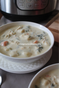 Chicken Gnocchi Soup – Instant Pot, Stove Top