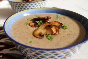 Cream of Mushroom Soup – Instant Pot, Stove Top