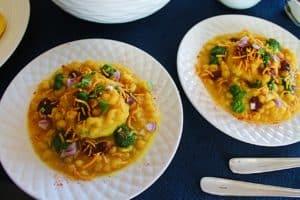 Mumbai Style Ragda Pattice – Instant Pot, Pressure Cooker