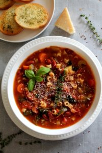 Minestrone Soup – Instant Pot / Stove Top