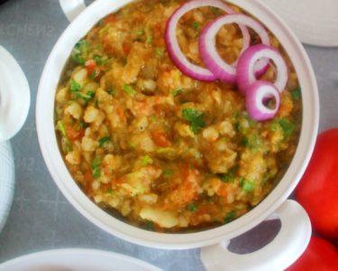 Baingan Chokha – Instant Pot Mealthy Crisplid, Air Fryer, Oven, Stove Top