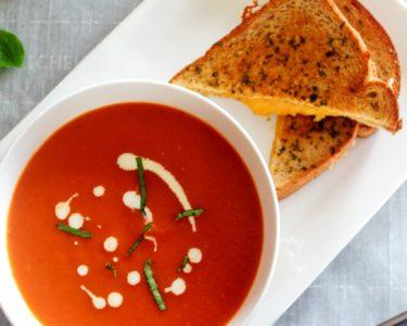 Creamy Tomato Bisque – Instant Pot, Stove Top