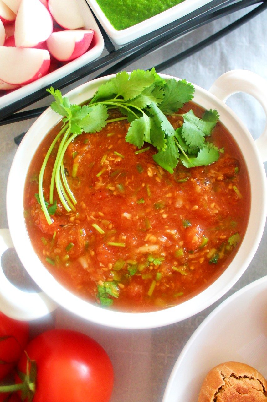 Tomato Chokha – Instant Pot Mealthy Crisplid, Air Fryer, Oven, Stove Top