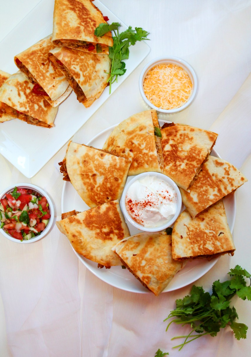 Chicken Quesadilla – Instant Pot, Stove Top