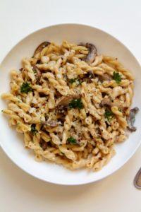Mushroom Pasta – Instant Pot, Stove Top