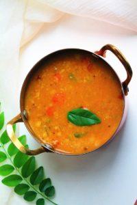 Tiffin Sambar – Instant Pot, Stove Top