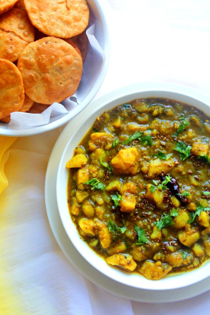 Mathura Ke Dubki Wale Aloo Potato Curry Aloo Jhol