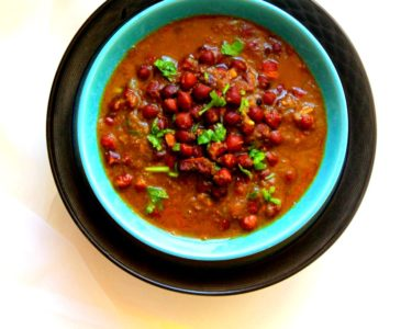 Kala Chana Masala / Black Chickpeas Curry – Instant Pot, Stove Top