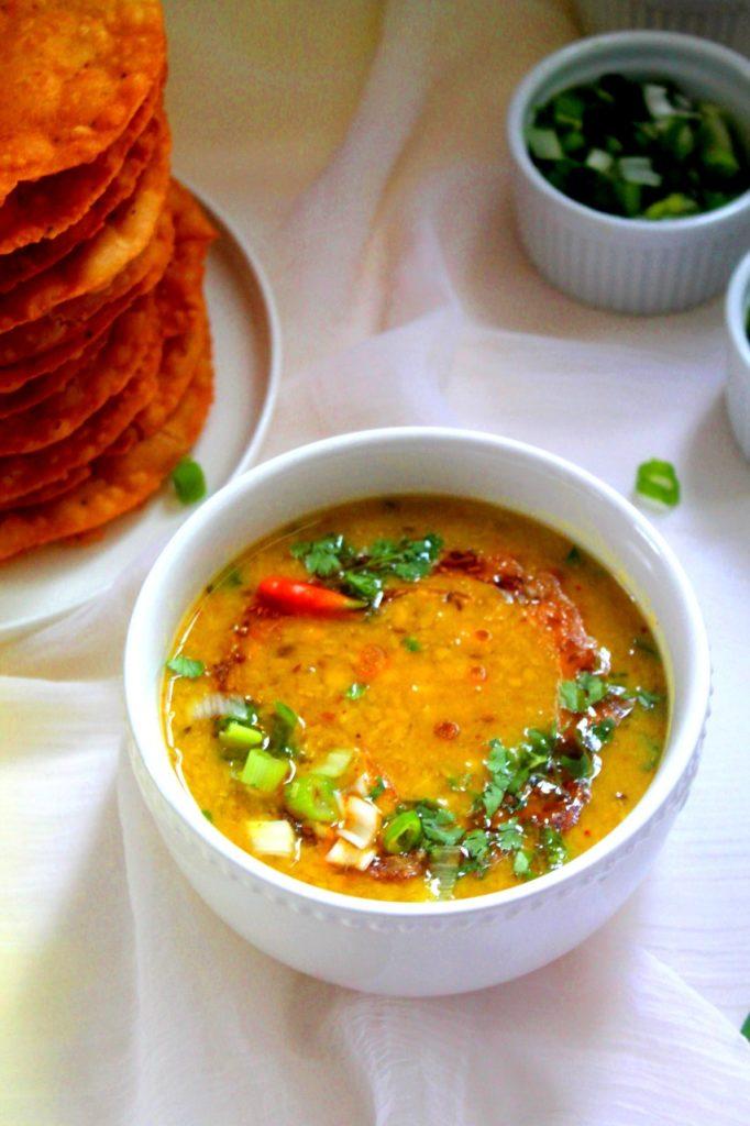 Dal Pakwan Chana Dal - Instant Pot