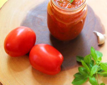 Marinara sauce with fresh tomatoes – Instant Pot