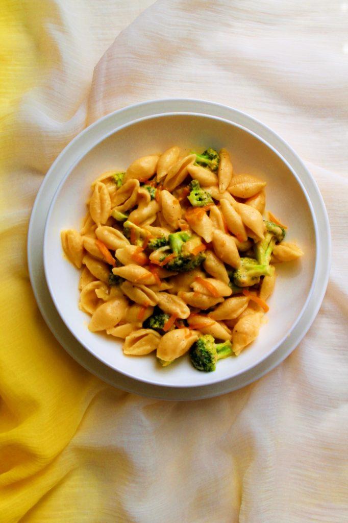 Broccoli Cheddar Pasta - Instant Pot, Stove Top