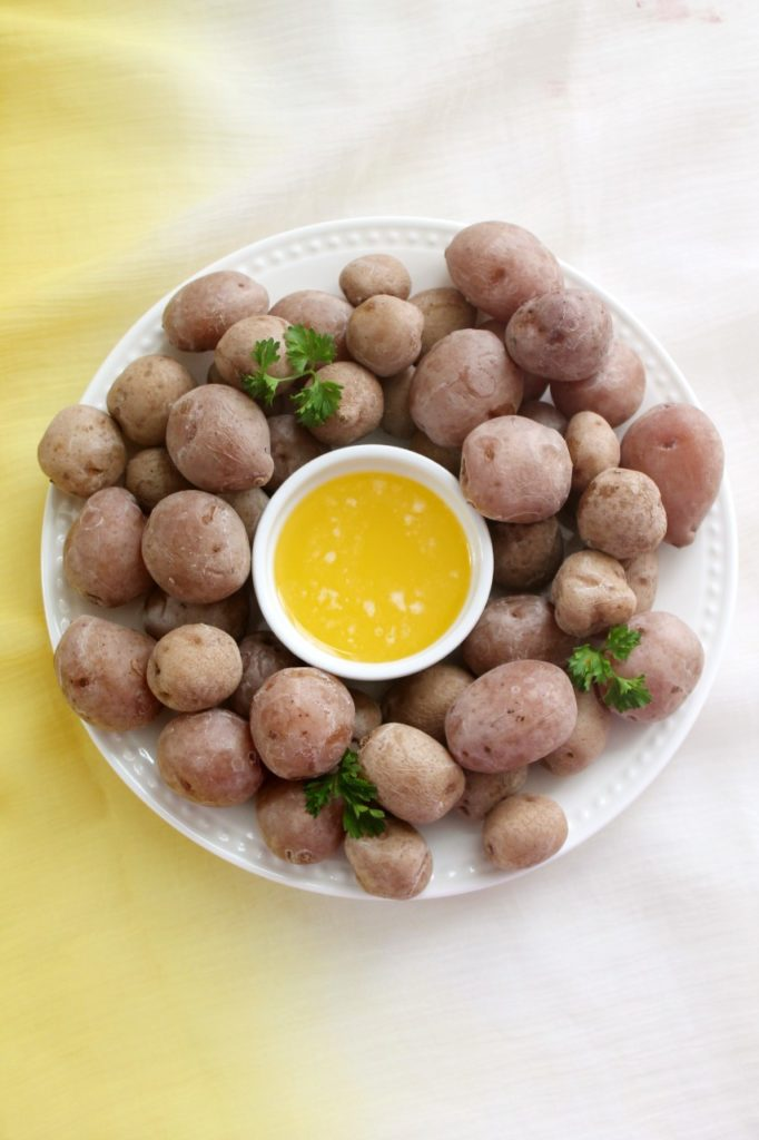 Syracuse Salt Potatoes - Instant Pot, Stove Top