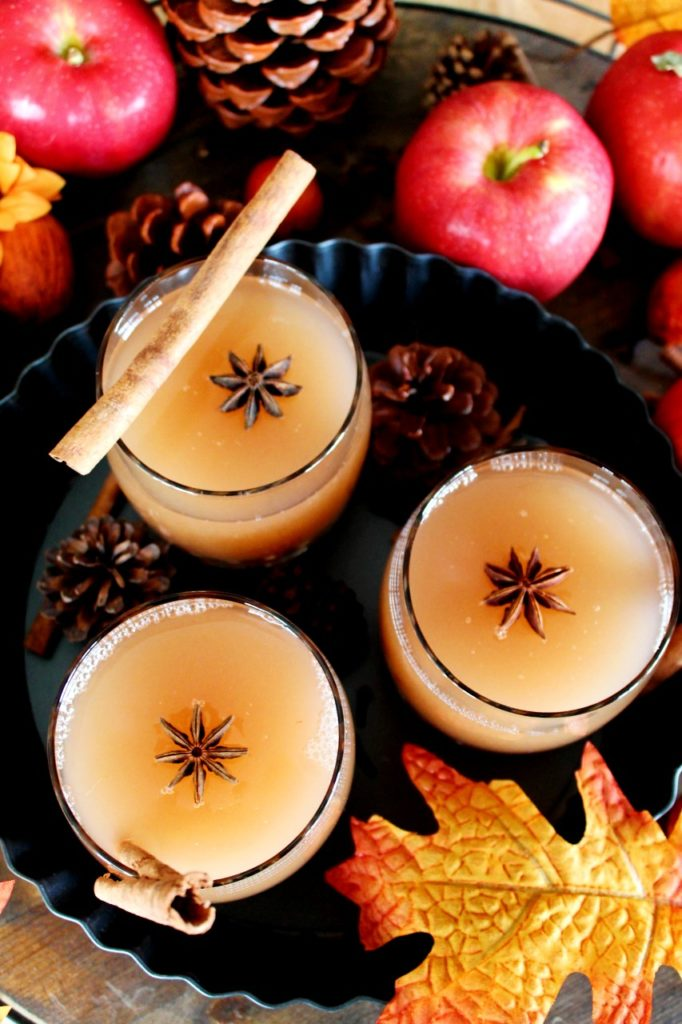 Homemade Apple Cider - Instant Pot, Stove Top