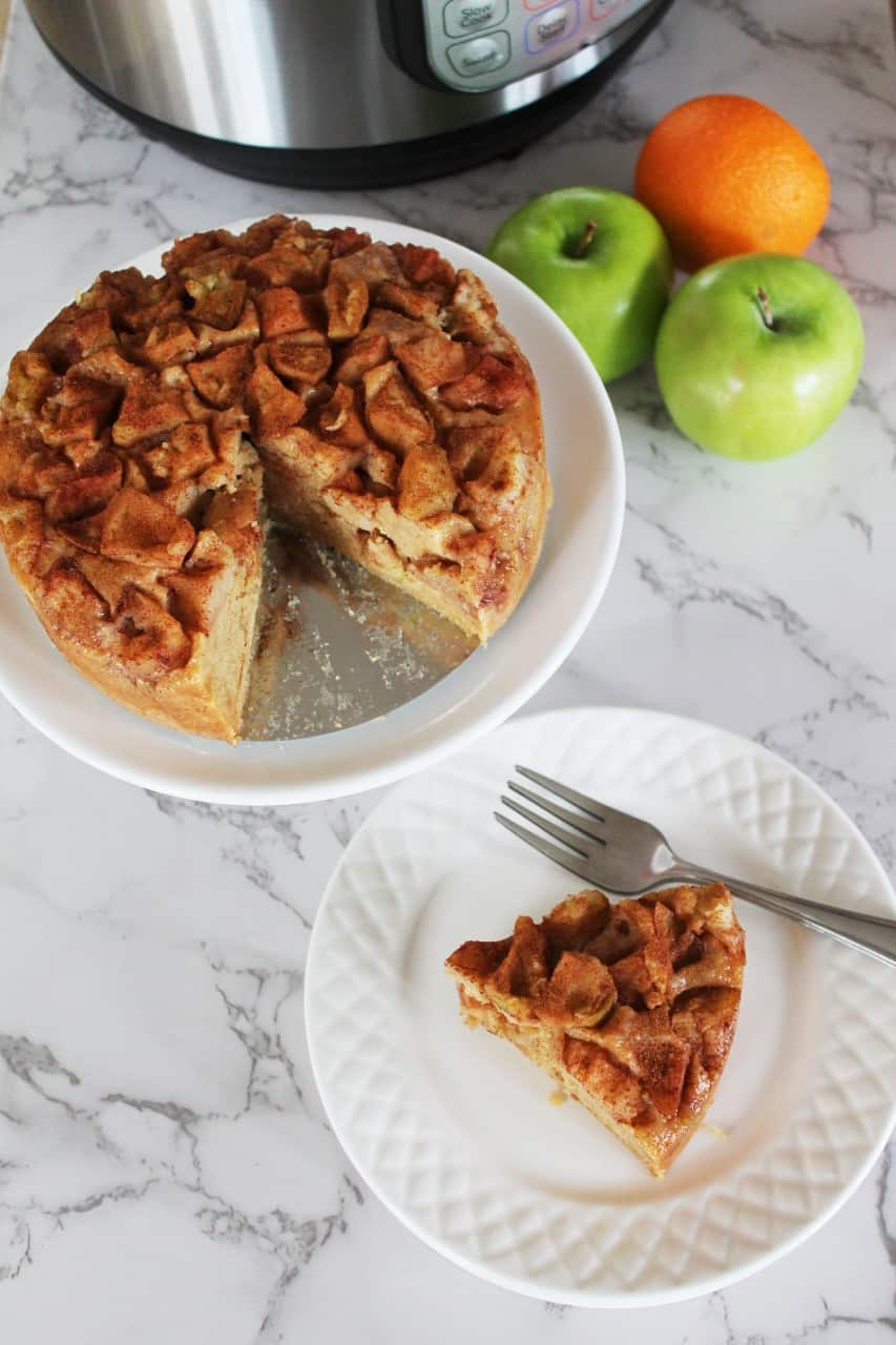 Homemade Apple Cake – Instant Pot, Oven